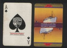 Collectable advertising playing cards. P.& O shipping line Strathamore